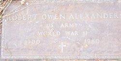 Robert Owen Alexander