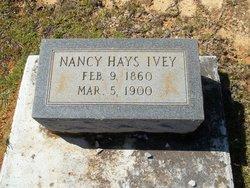 Nancy <i>Hayes</i> Ivy