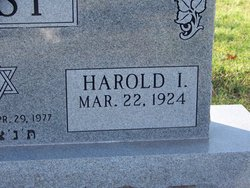 Harold I Bast