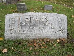 Ernest J Adams