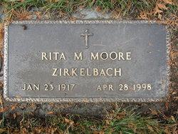 Rita M <i>Sarrazin</i> Moore-Zirkelbach