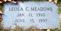 Leola Clyde <i>Farley</i> Meadows