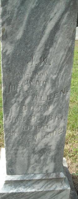 James K. Polk Allen