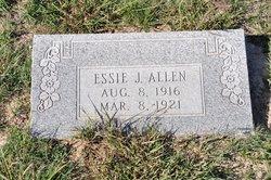 Bessie Jewell Essie Allen