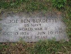 Joseph Benjamin Joe Ben Burdette