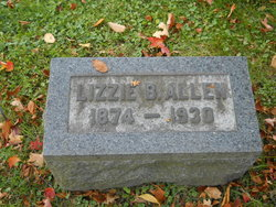 Elizabeth Lizzie <i>Burnside</i> Allen