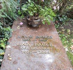 Lina <i>Brunner</i> Bauer