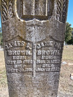 Jane Matilda <i>Bailey</i> Brown