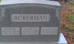 Luise D. <i>Harmening</i> Ackerman
