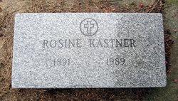 Rosine Alvine <i>Buescher</i> Kastner