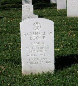 Marshall William Boone