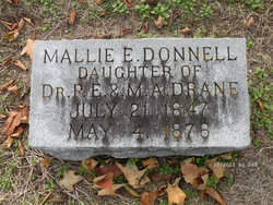 Mallie E. <i>Drane</i> Donnell