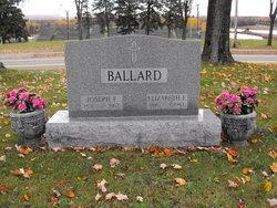Elizabeth E Lizzie <i>Schreiner</i> Ballard