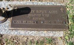 Shirley <i>Rowe</i> Agee