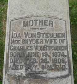 Ida Matilda <i>Snyder</i> Von Steuben