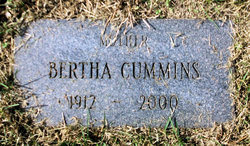 Bertha Cummins