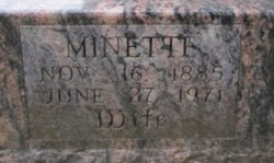 Minette B Minnie <i>Moehle</i> Farrow