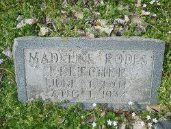 Madeline <i>Rodes</i> Fletcher