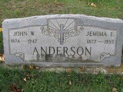 Jemima E Anderson