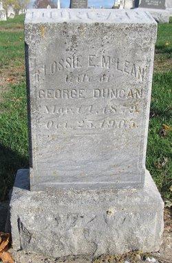 Flossie E. <i>McLean</i> Duncan