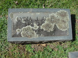 Lydia J. <i>Higdon</i> Allison