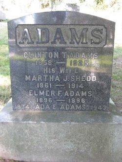 Ada E <i>Butterfield</i> Adams