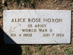 Alice Rose Noxon