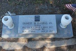 PFC Earnest W Cadell, Jr