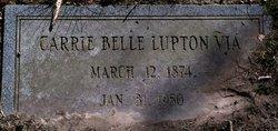 Carrie Belle <i>Lupton</i> Via