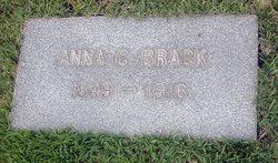 Hannah Clotilda Anna <i>Hudson</i> Brack