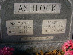 Mary Ann <i>Foster</i> Ashlock