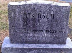 Jane Elizabeth <i>Mackey</i> Atkinson