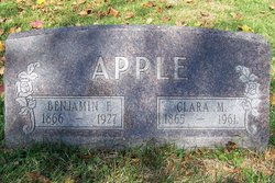 Clara M <i>Ogle</i> Apple