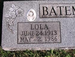 Lola E. <i>Johnson</i> Bateman