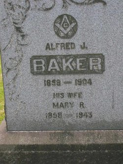 Mary R <i>VanHorn</i> Baker