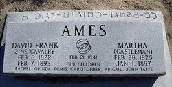 Martha <i>Castleman</i> Ames