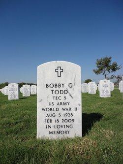 Bobby G Todd