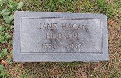 Jane <i>Hagan</i> Hudson