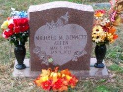Mrs Mildred May <i>Bennett</i> Allen