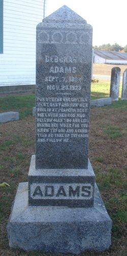 Deborah C Adams