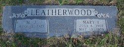 Maynard John Leatherwood