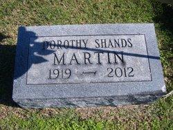 Dorothy <i>Shands</i> Martin