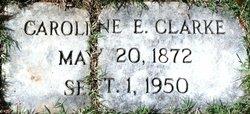 Caroline E Carrie <i>Wolfe</i> Clarke