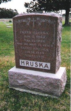 Francis Fannie <i>Cacak</i> Hruska
