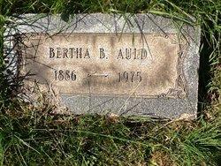 Bertha B Auld