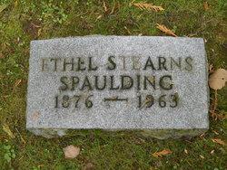 Ethel Lena <i>Stearns</i> Spaulding