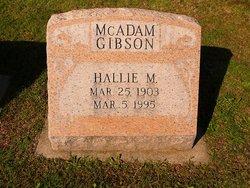 Hallie Maude <i>McKee</i> Gibson