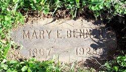 Mary E. <i>Price</i> Benner