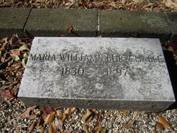 Maria Mackey <i>Williams</i> Burtchaell