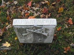 Pvt John Benton, Sr